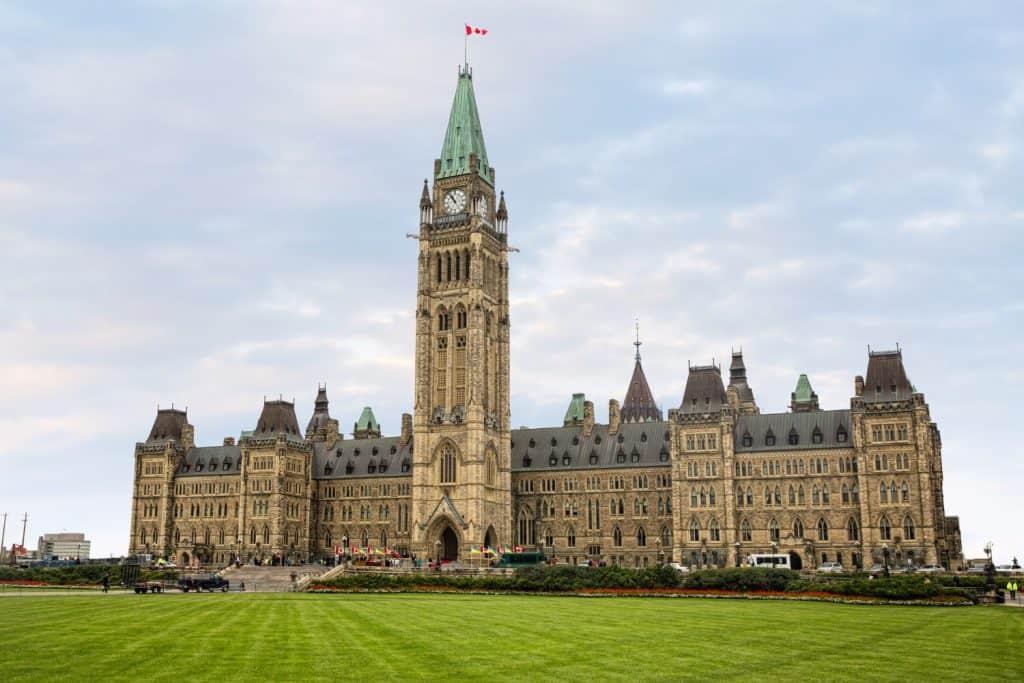 עגלות בקנדה